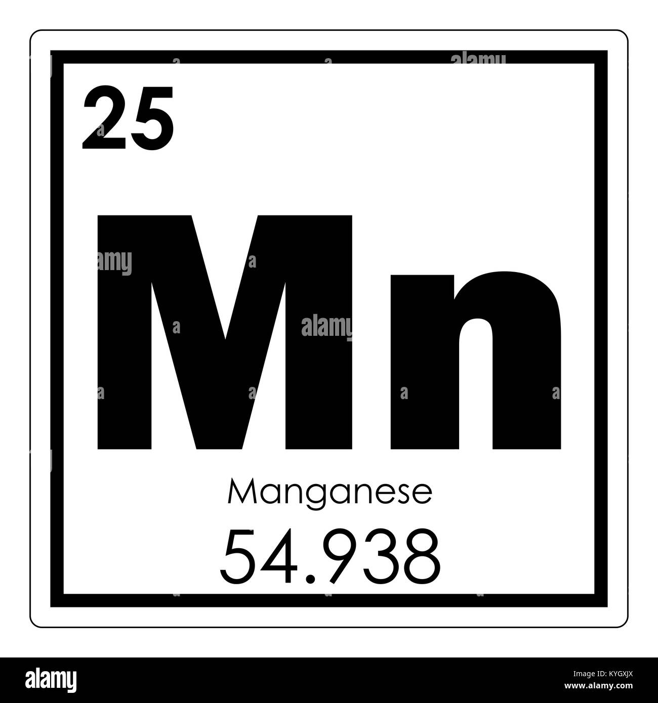 Manganese chemical element periodic table science symbol stock photo manganese chemical element periodic table science symbol urtaz Images