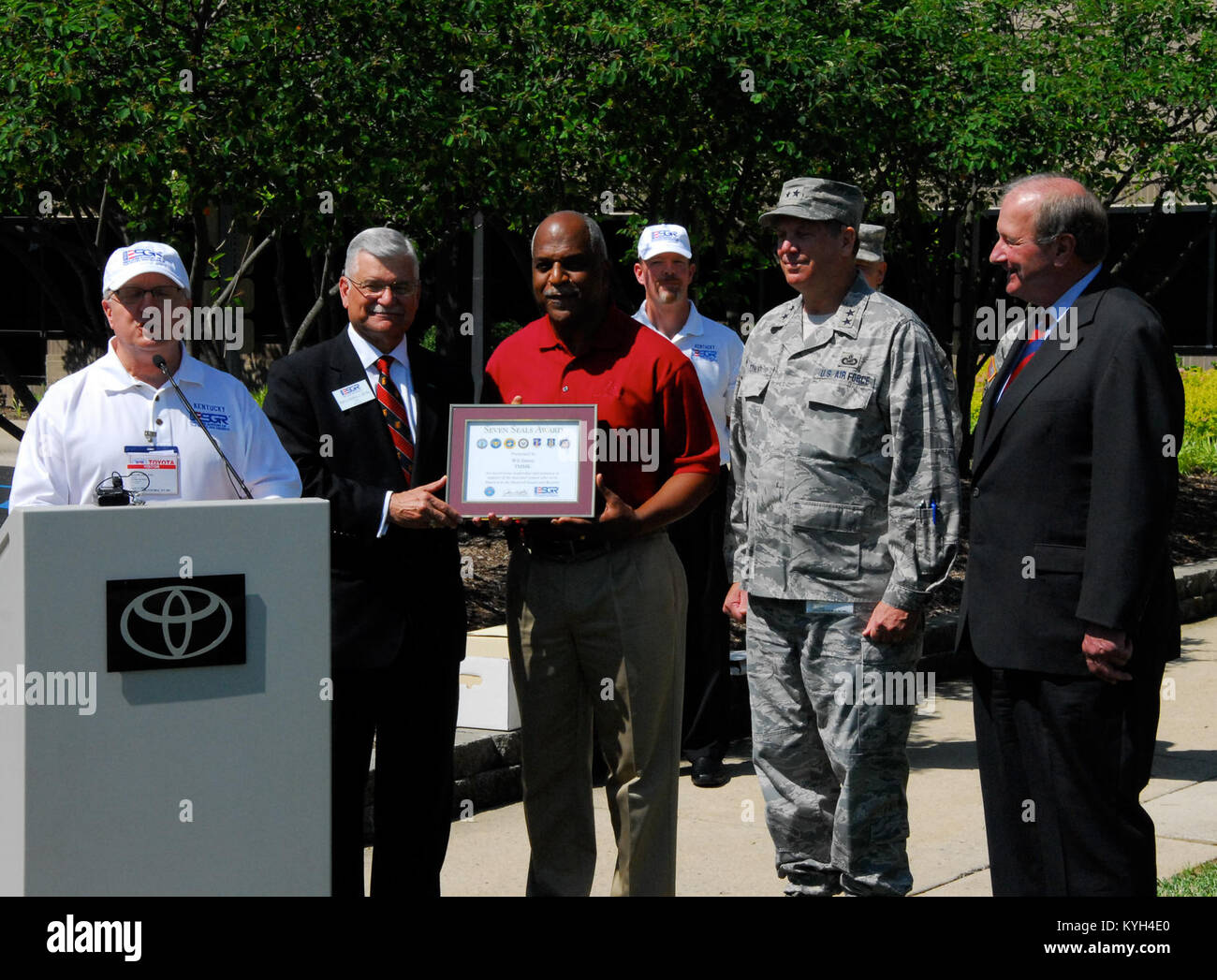 Toyota Motor Manufacturing Company Was Honored By The Kentucky Employer  Support To The Guard And Reserve In Which Multiple Awards Were Presented To  The ...