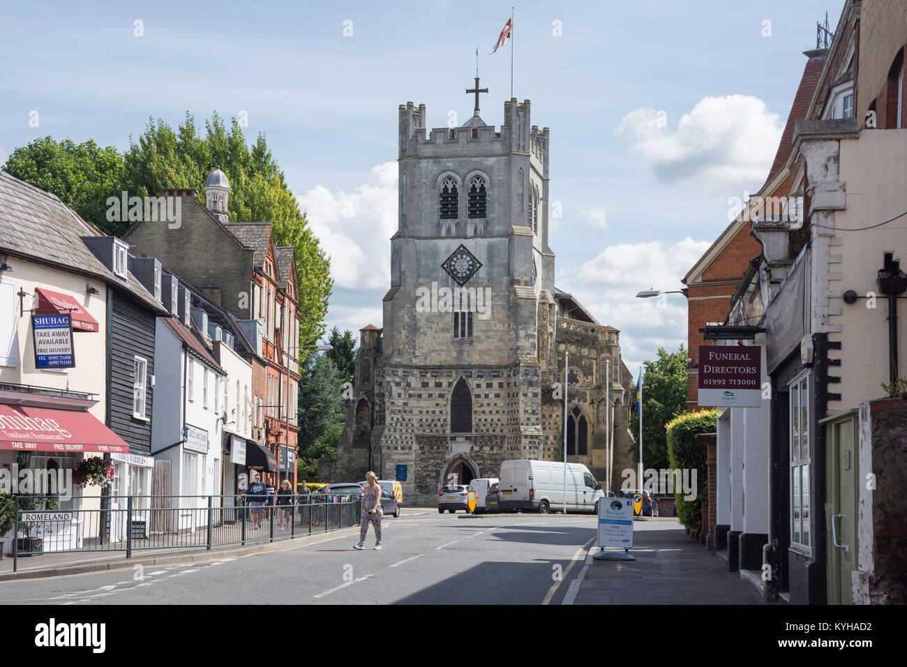 Waltham abbey essex united kingdom
