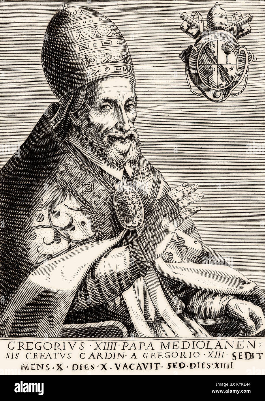 Pope Gregory XIV, 1535 –1591, Pope from 5 December 1590 to his death