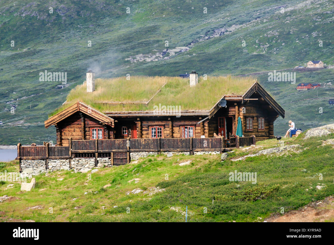 Norwegian wooden houses built in traditional technique for Norway wooden houses