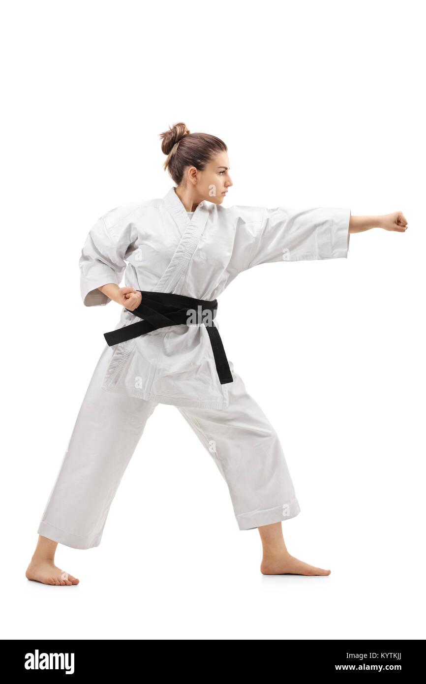 Karate Girl Stock Photos Amp Karate Girl Stock Images Alamy