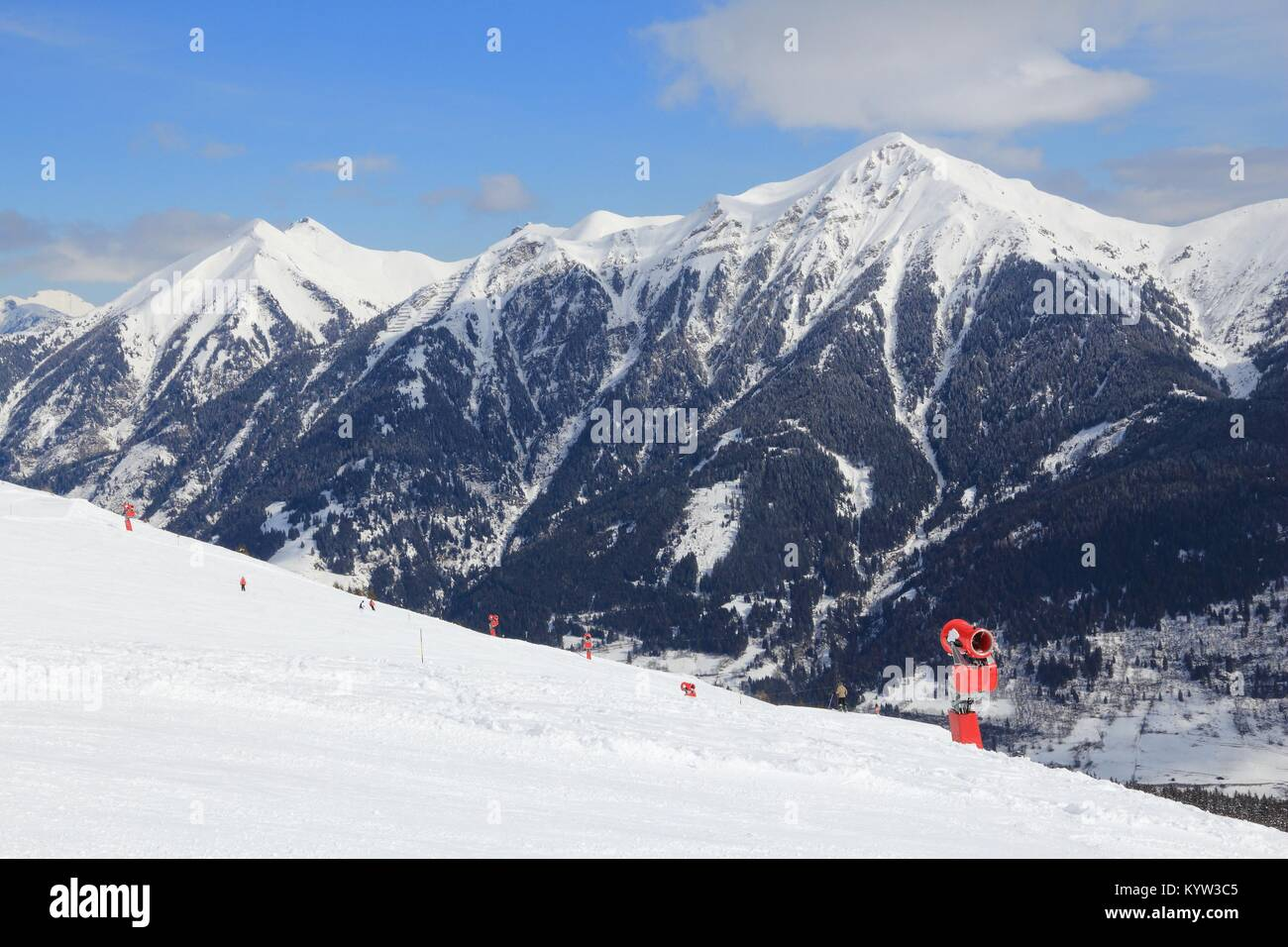 ski resort in austria - bad gastein in high tauern (hohe tauern