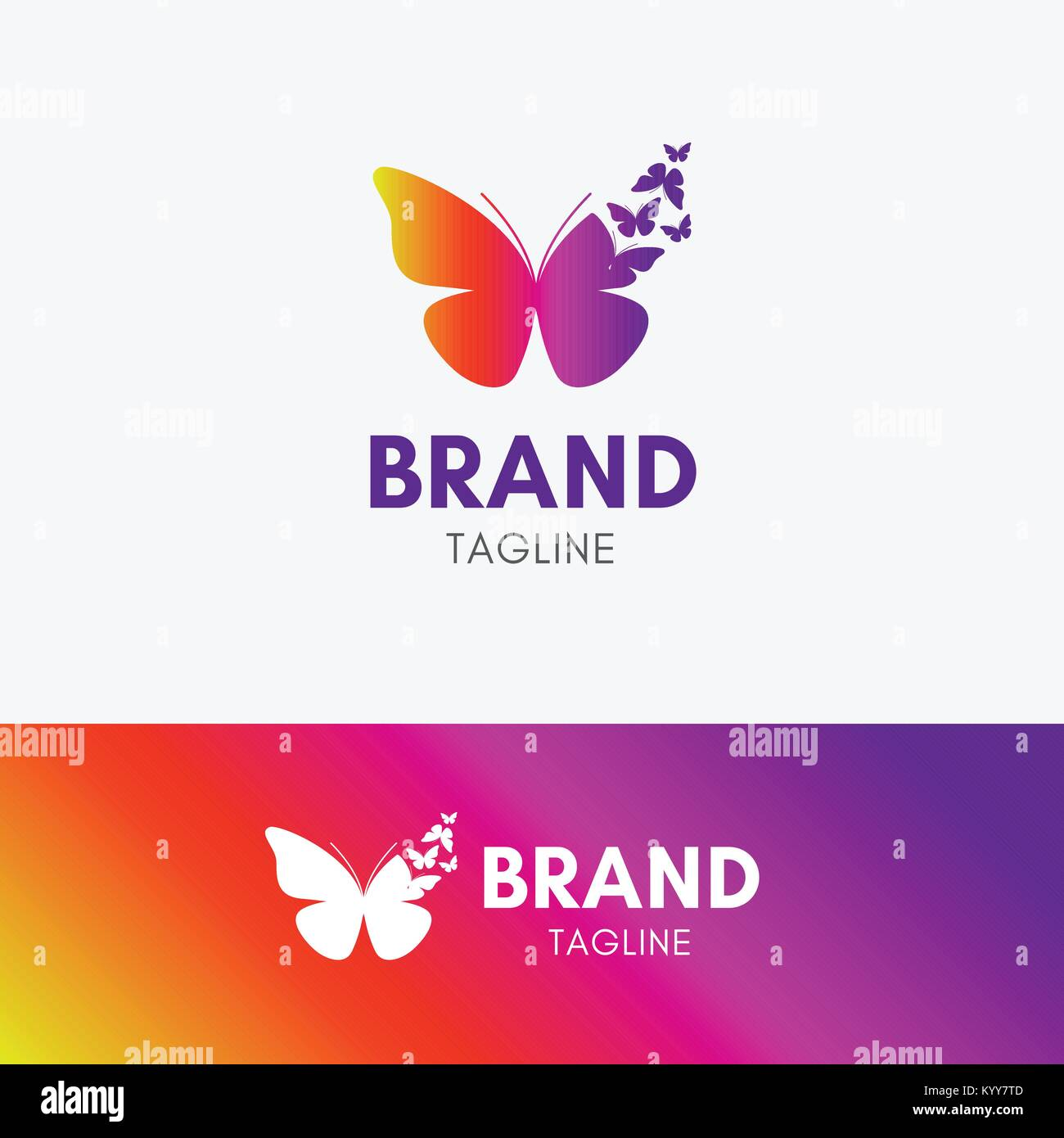 Butterfly morph logo template icon symbol with vibrant color stock butterfly morph logo template icon symbol with vibrant color biocorpaavc Images