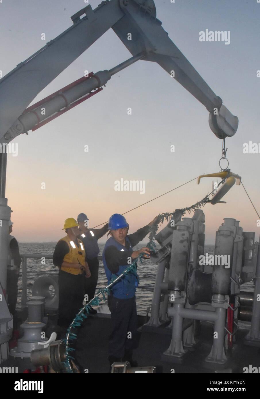 US Navy Research Lab applying MCM sonar to C-UUV