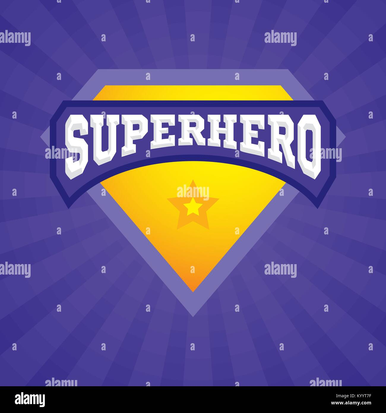 super powers icon comic power and confidence abstract background
