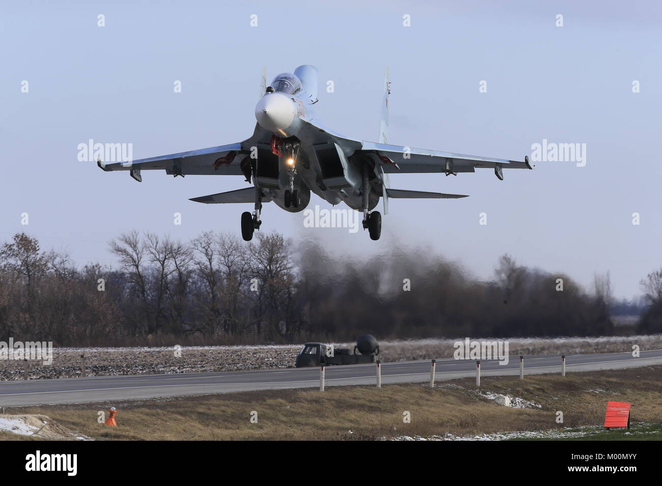 Flight incident with a Su-34 bomber in Khurba 86