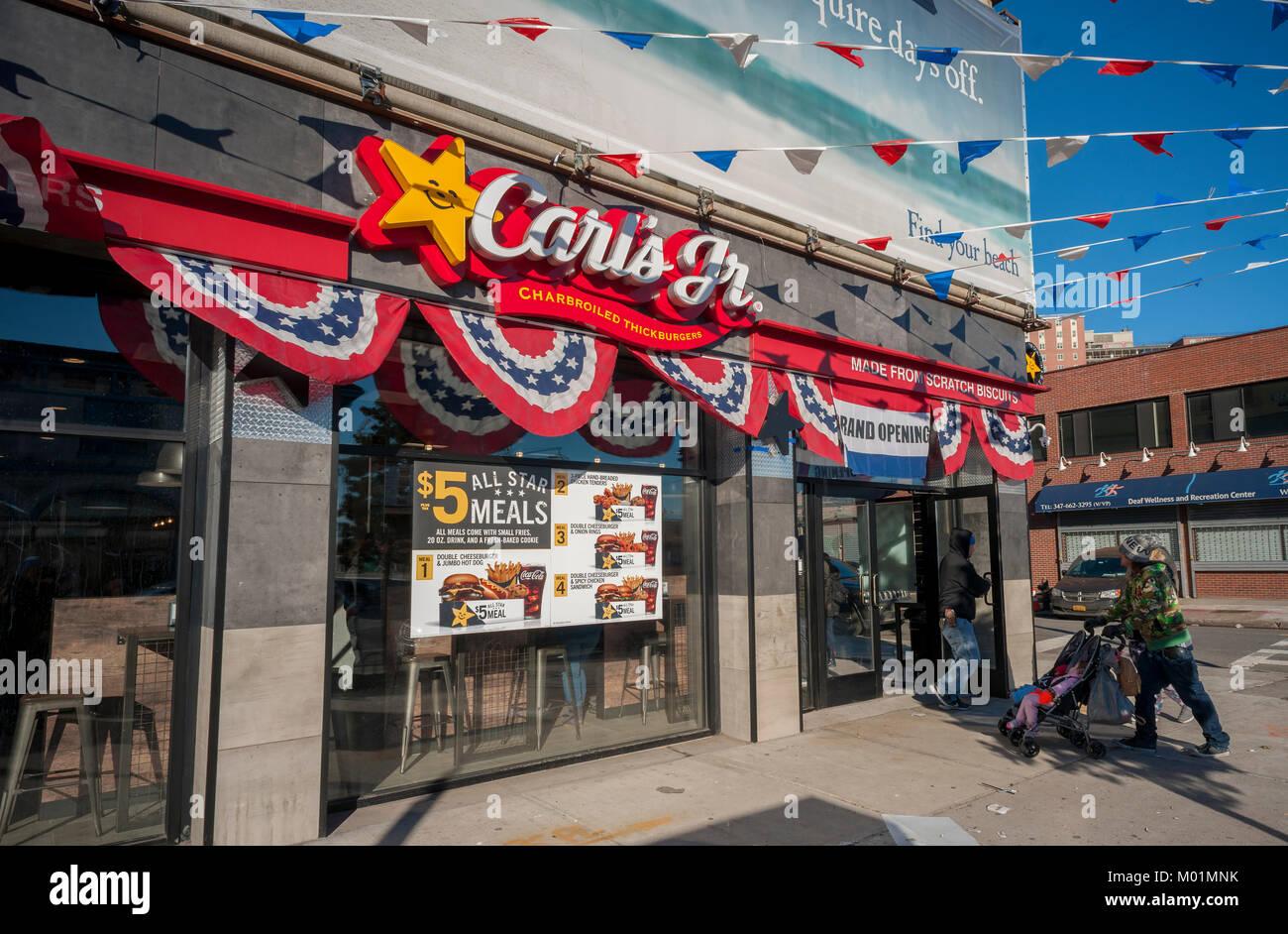 Carls Jr Coney Island