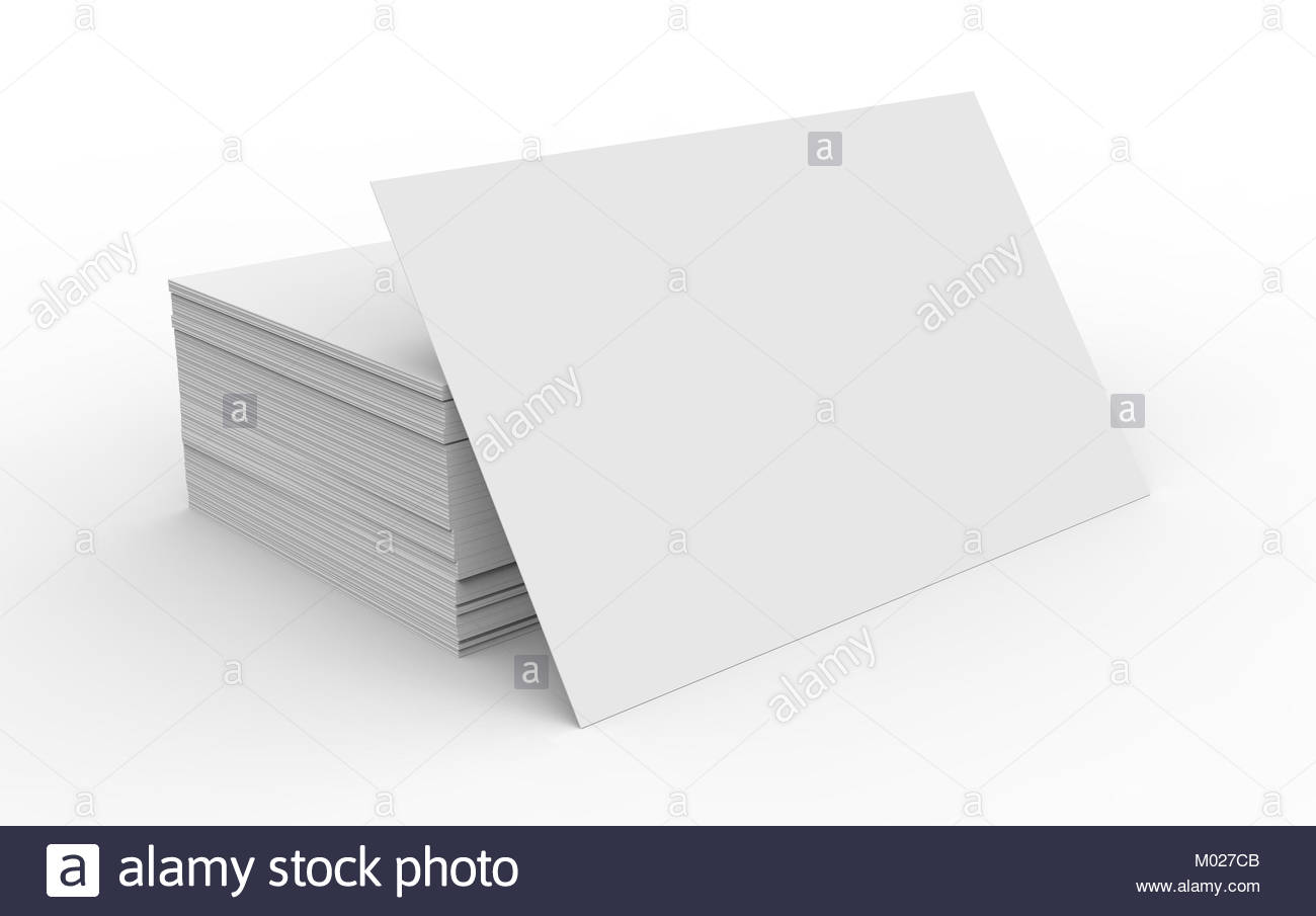 Stack of business card template blank unfilled card for edited stack of business card template blank unfilled card for edited isolated on white background cheaphphosting Images