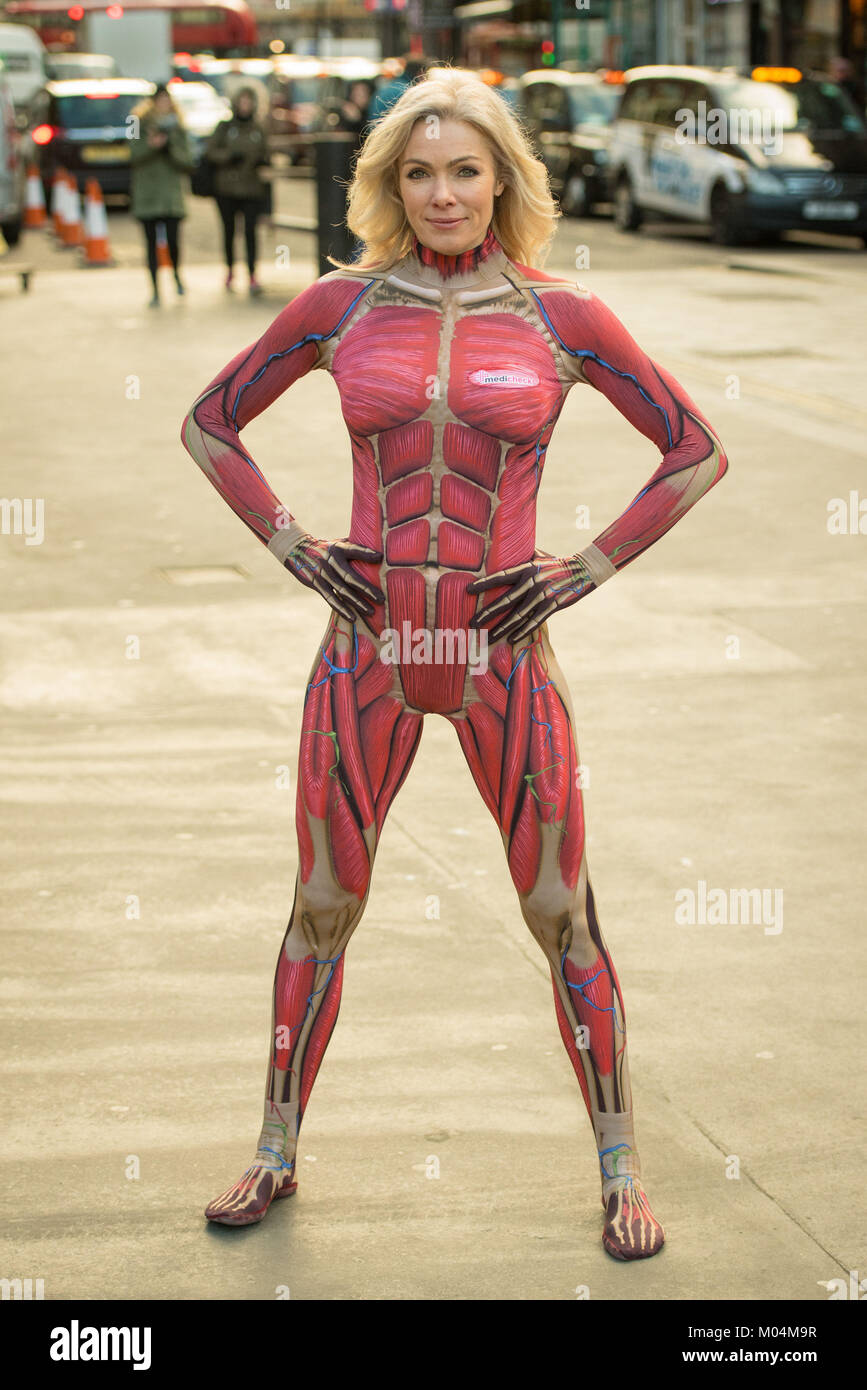 Nell Mcandrew Wearing Inner Body Suits Showing The Inside Of The