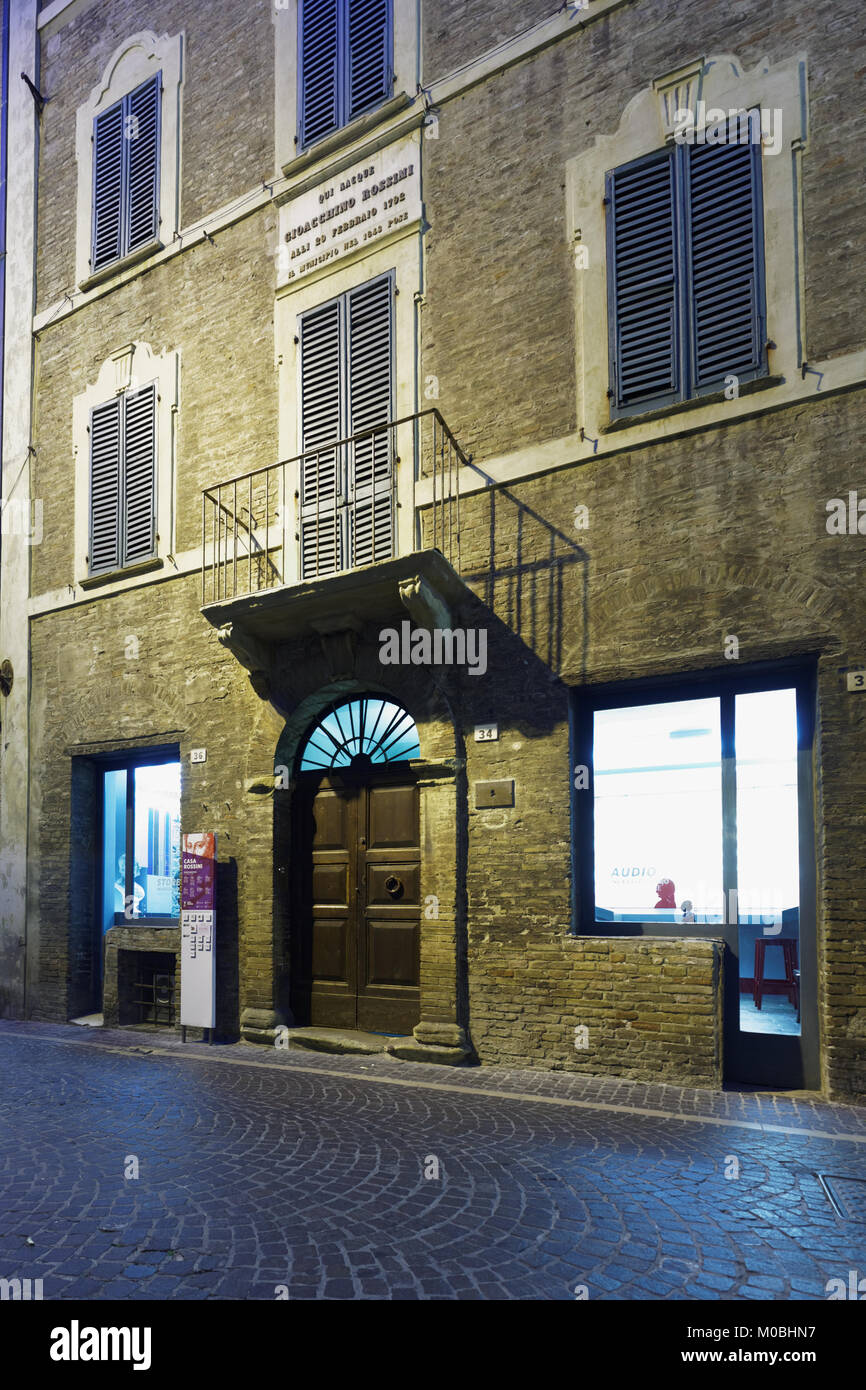 Pesaro italy stock photos pesaro italy stock images alamy for Casa classica pesaro