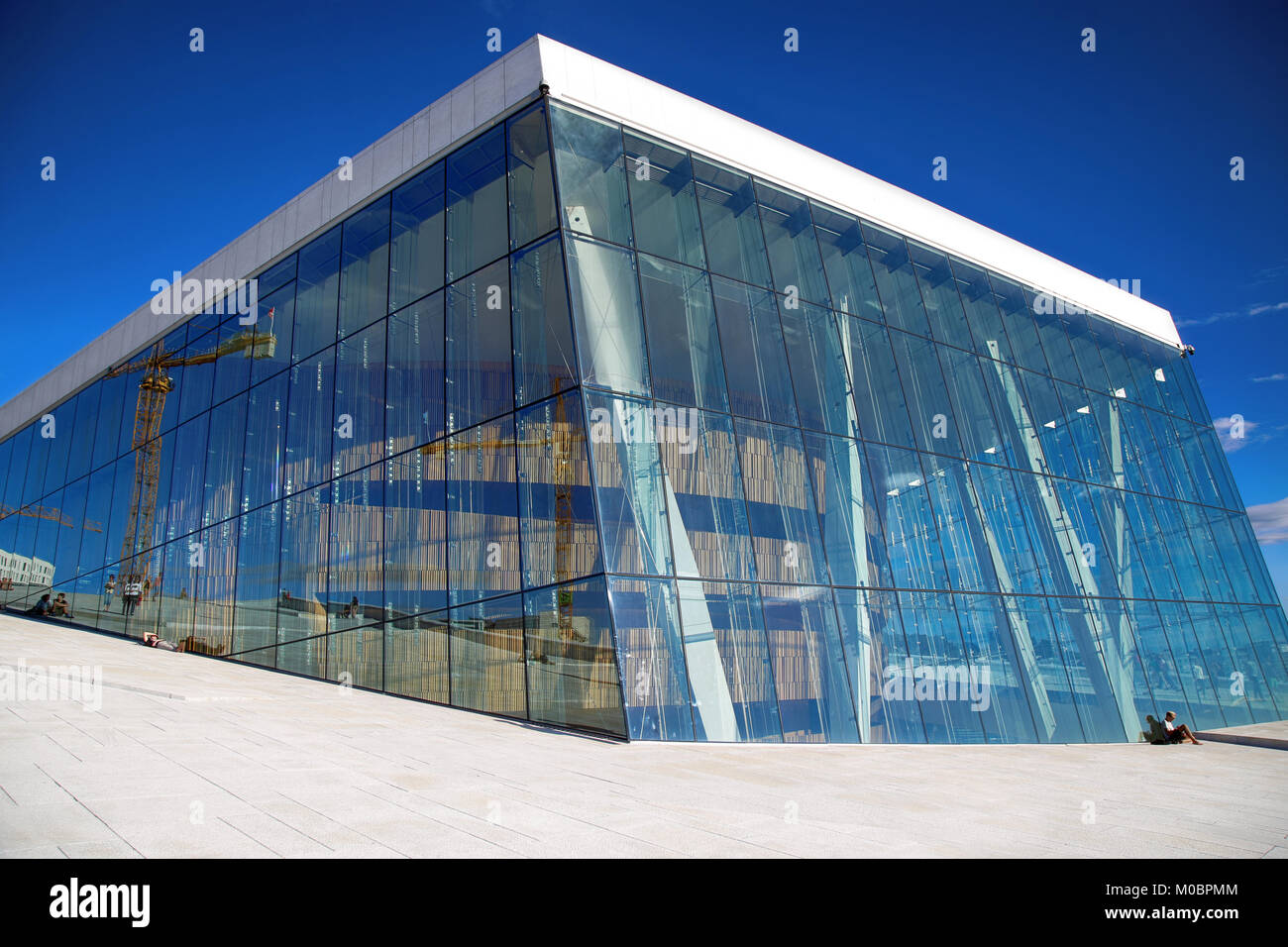 OSLO, NORWAY U2013 AUGUST 17, 2016: Tourist On The Oslo Opera House Which Is Home  Of Norwegian National Opera And Ballet And National Opera Theatre In Osl Great Pictures