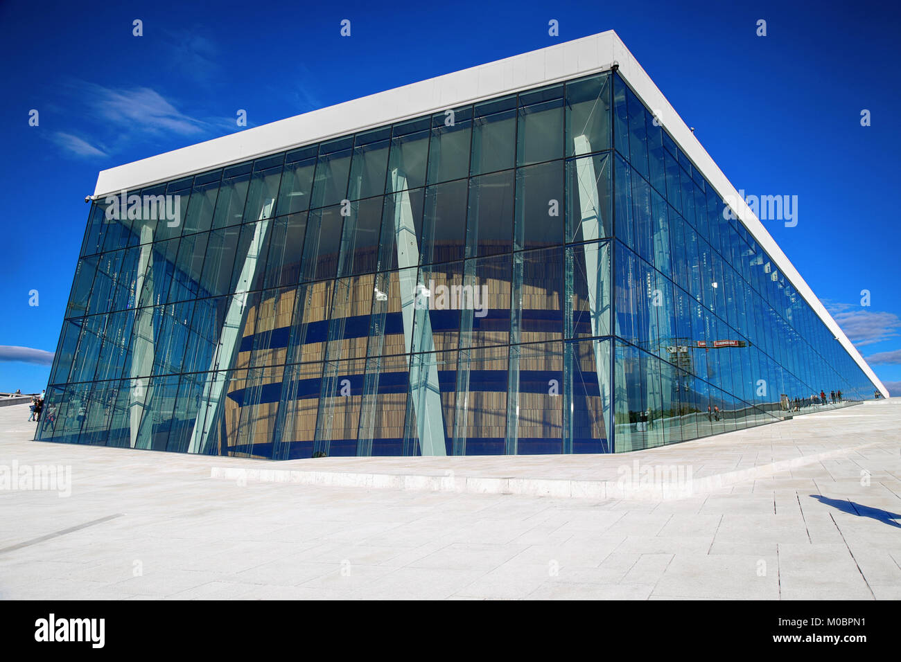 Wonderful OSLO, NORWAY U2013 AUGUST 17, 2016: Tourist On The Oslo Opera House Which Is Home  Of Norwegian National Opera And Ballet And National Opera Theatre In Osl Idea