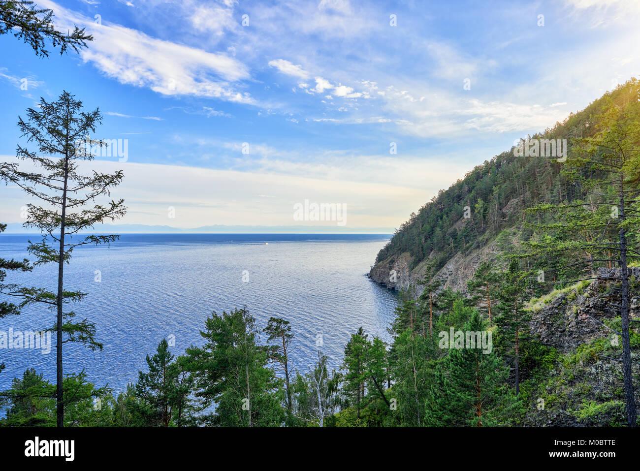 Lake Baikal is located near Irkutsk 24