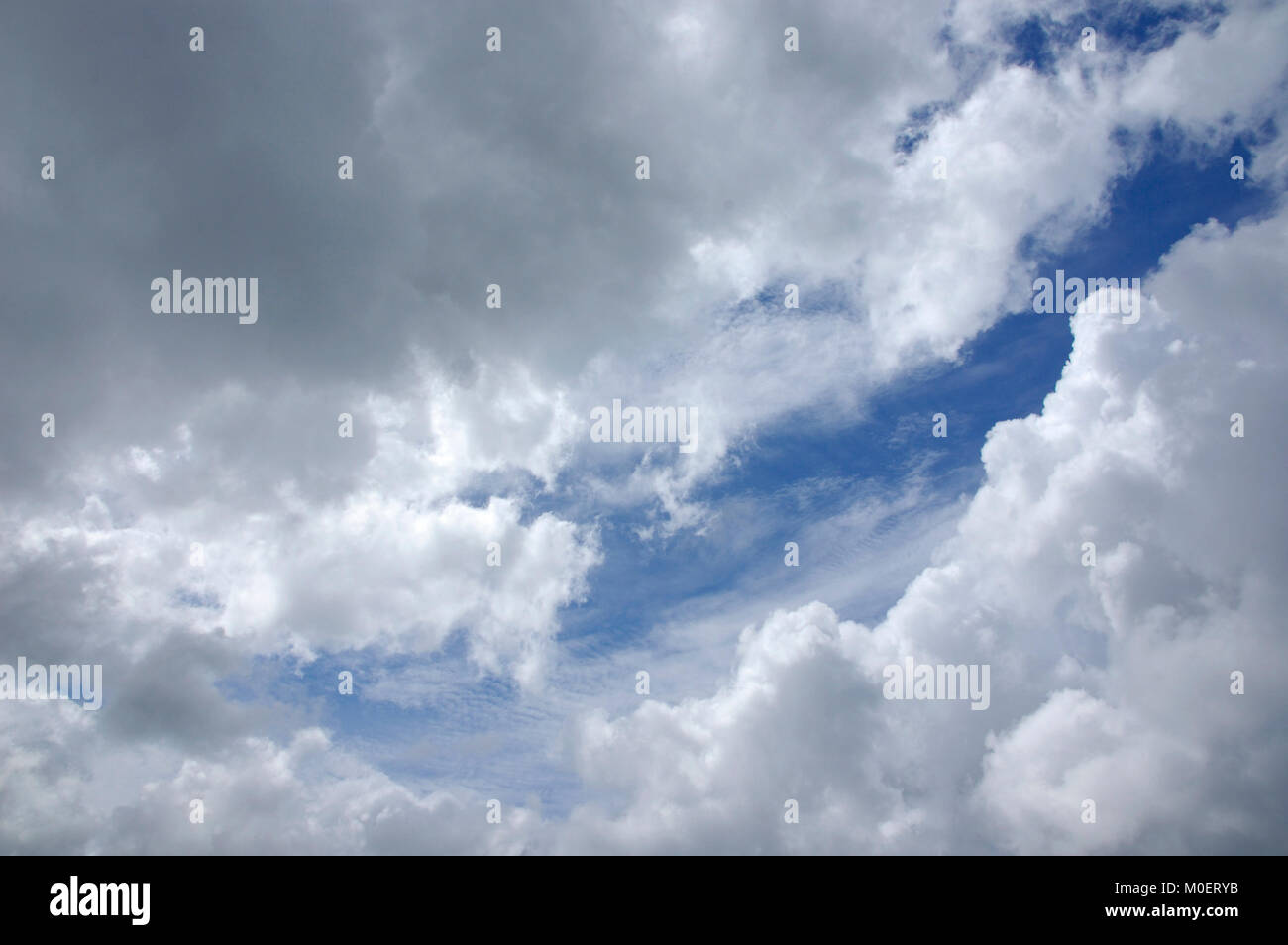 sky with clouds wolkenhimmel stock photo 172429807 alamy
