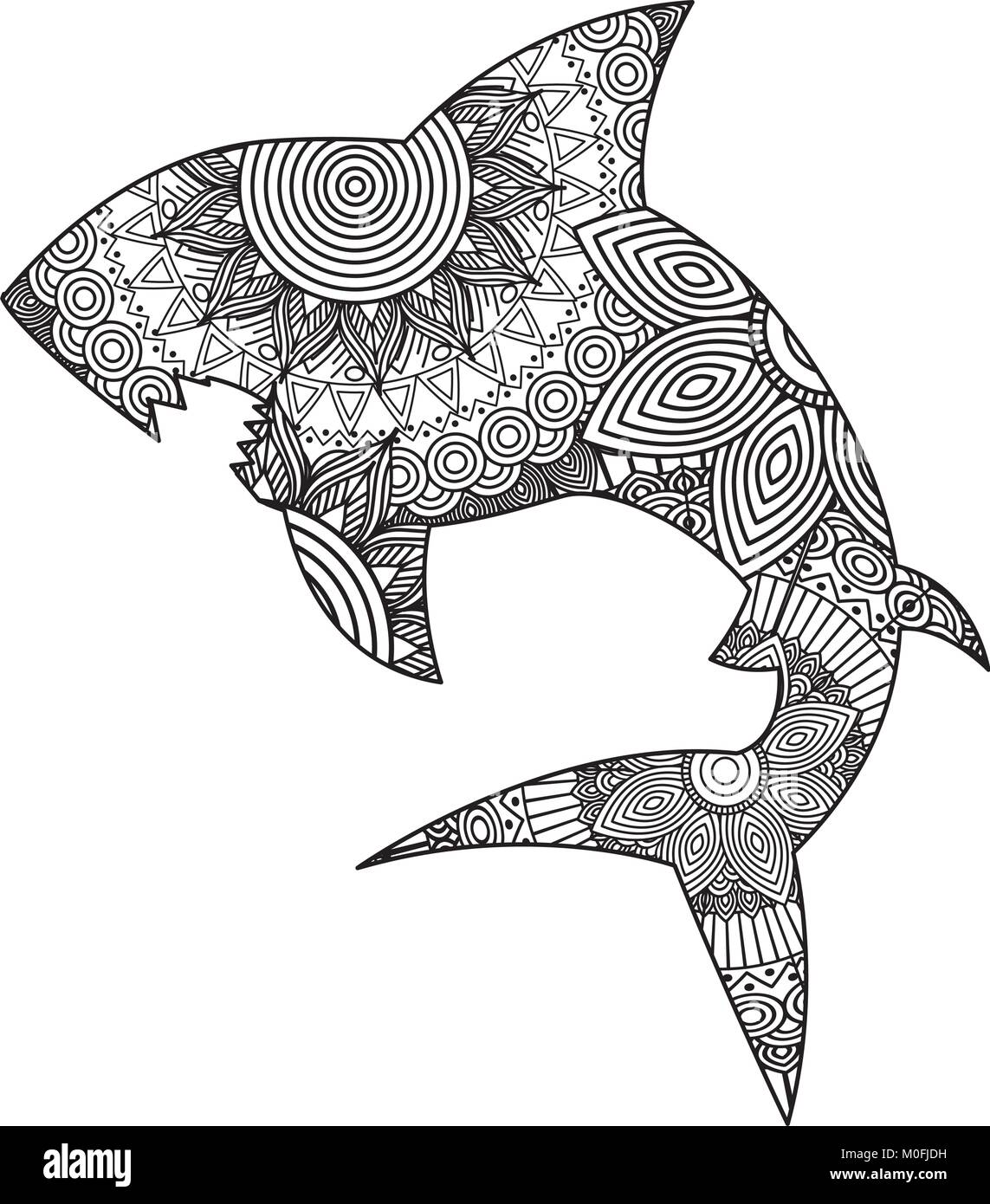 Shark Drawing Stock Photos amp Shark