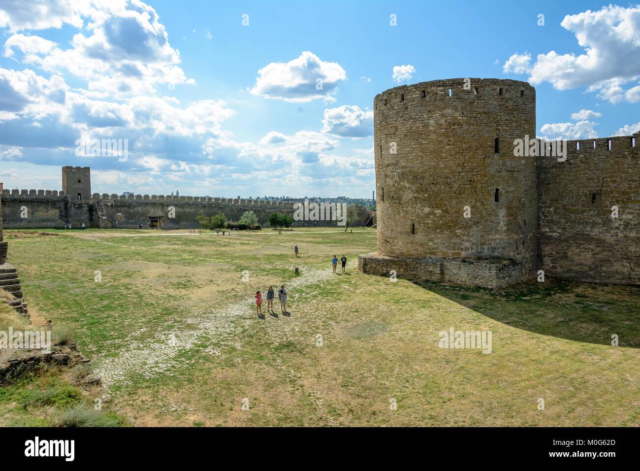 Akkerman Fortress: description, history 100