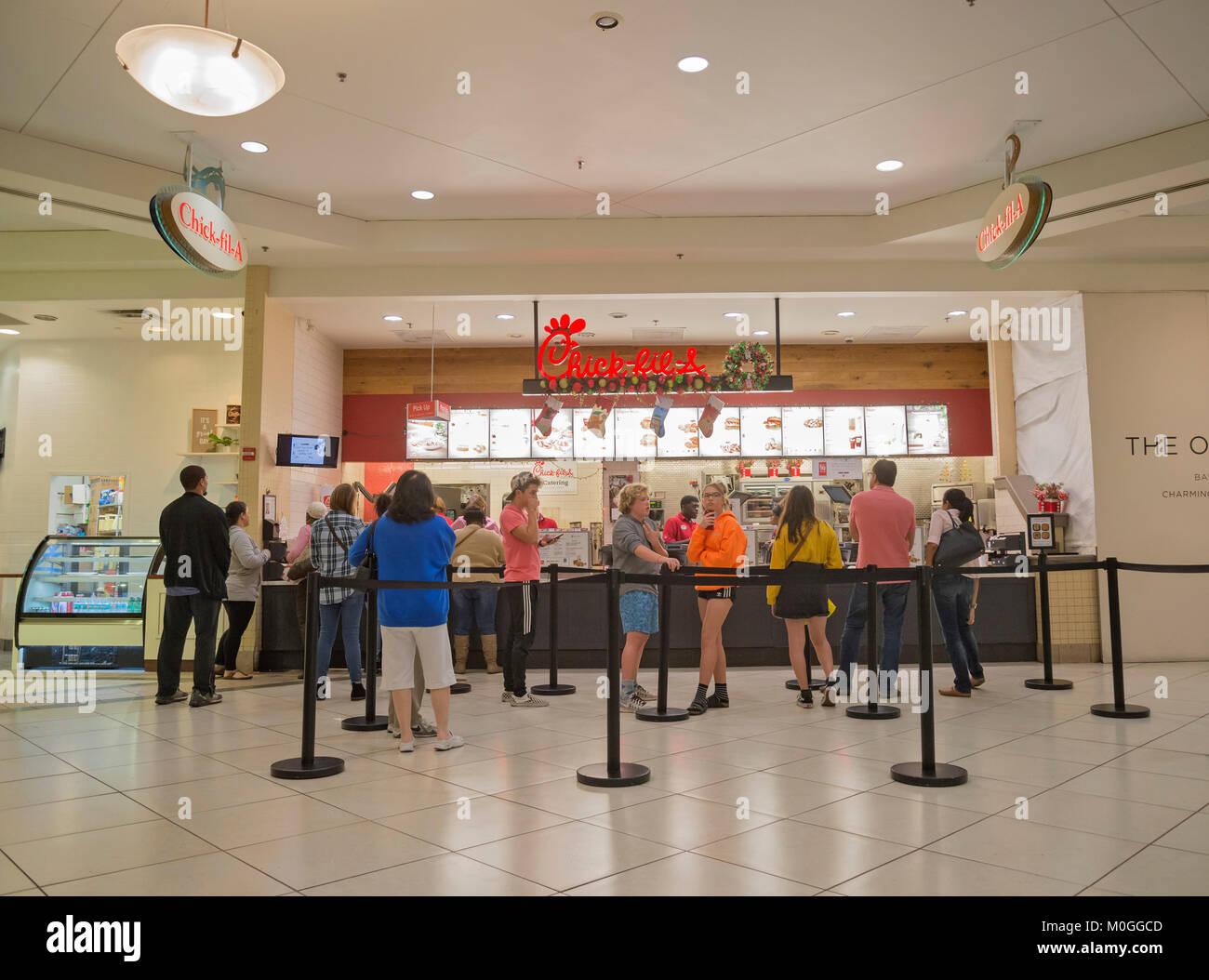 Oaks mall food court