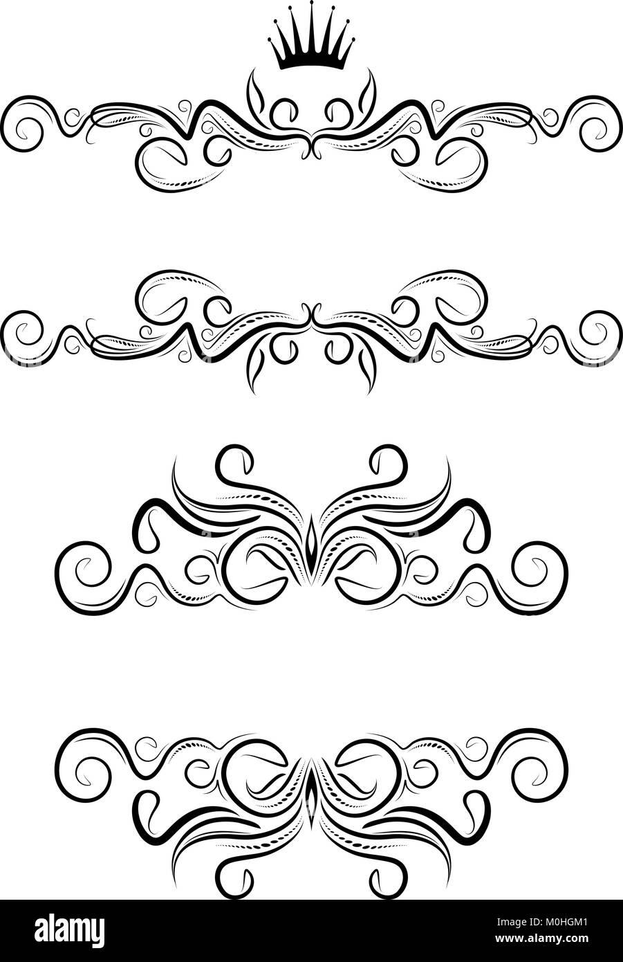 Elegant text frames. Vector Stock Vector Art & Illustration, Vector ...