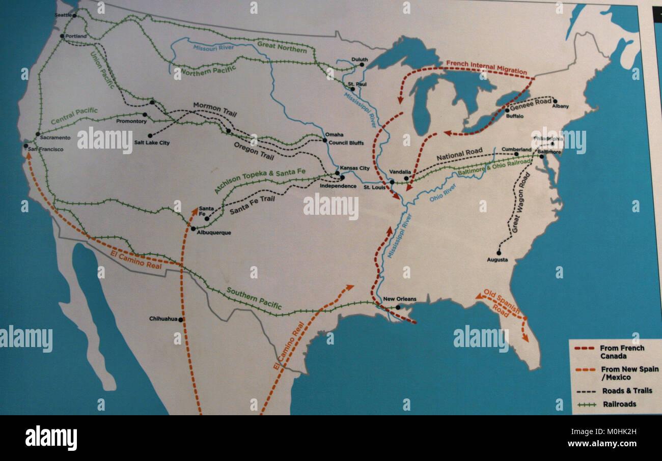 Washington Dc On United States Map%0A Migrant Railway Map Immigration Museum Ellis Island Upper New Migrant  Railway Map Immigration Museum Ellis Island Upper New York M HK H Stock  Photo Migrant