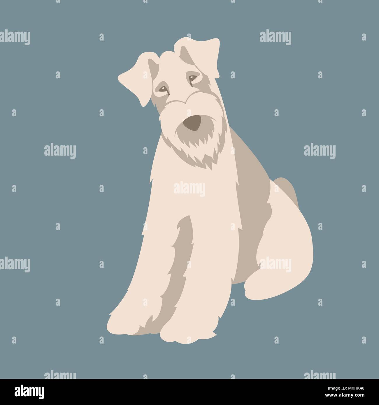 Wire Fox Terrier Stock Vector Images - Alamy