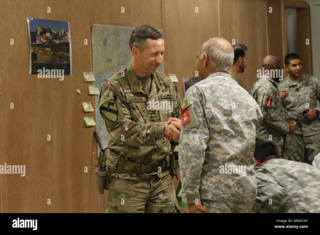 col scott jackson 1st security force assistance brigade commander