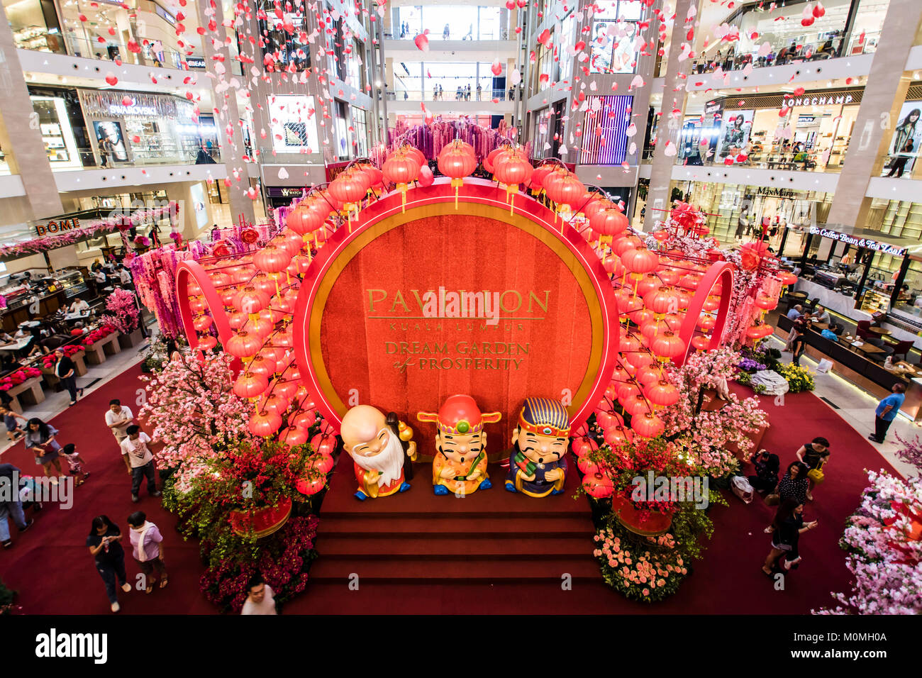 kuala lumpur shopping malls are getting ready to welcome the year of the dog chinese new year 2018 in the coming weeks big chinese new year theme