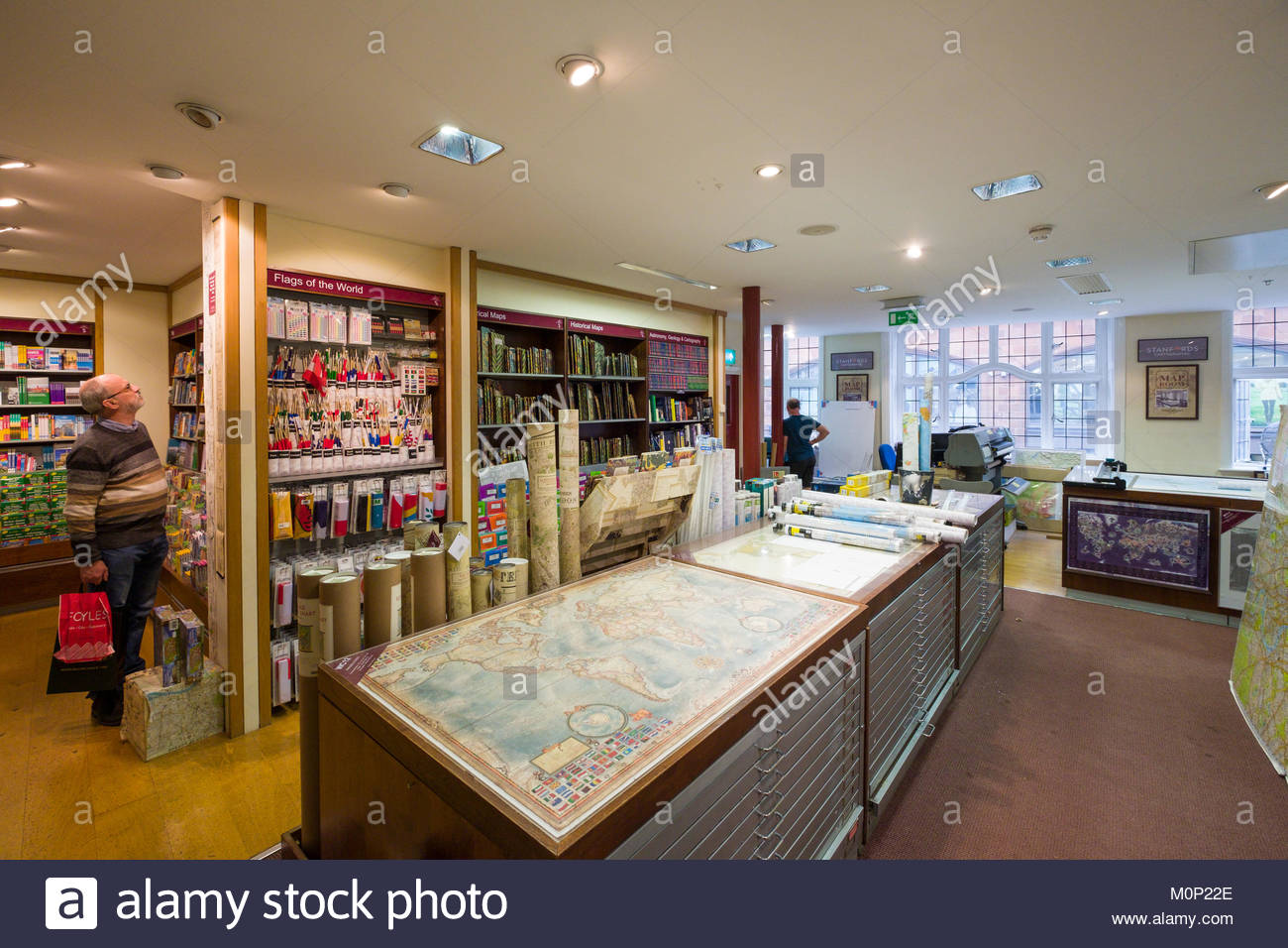 Rolled and flat maps for sale inside stanfords the worlds largest rolled and flat maps for sale inside stanfords the worlds largest map and travel bookshop covent garden city of westminster london england un gumiabroncs Gallery