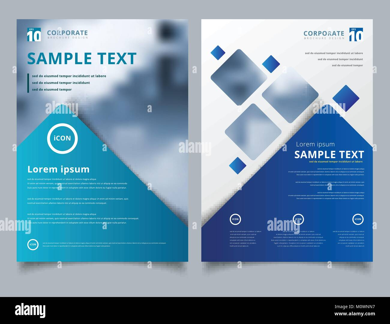 brochure layout design template annual report leaflet advertising
