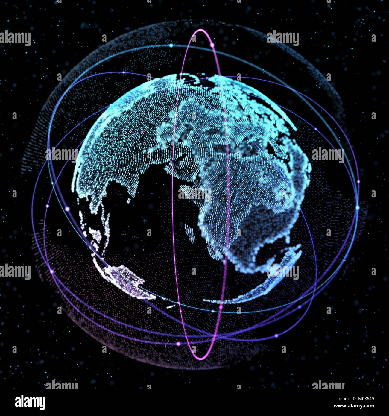 World map satellite representing the global global network stock world map satellite representing the global global network connectioninternational meaning 3d illustration publicscrutiny Gallery