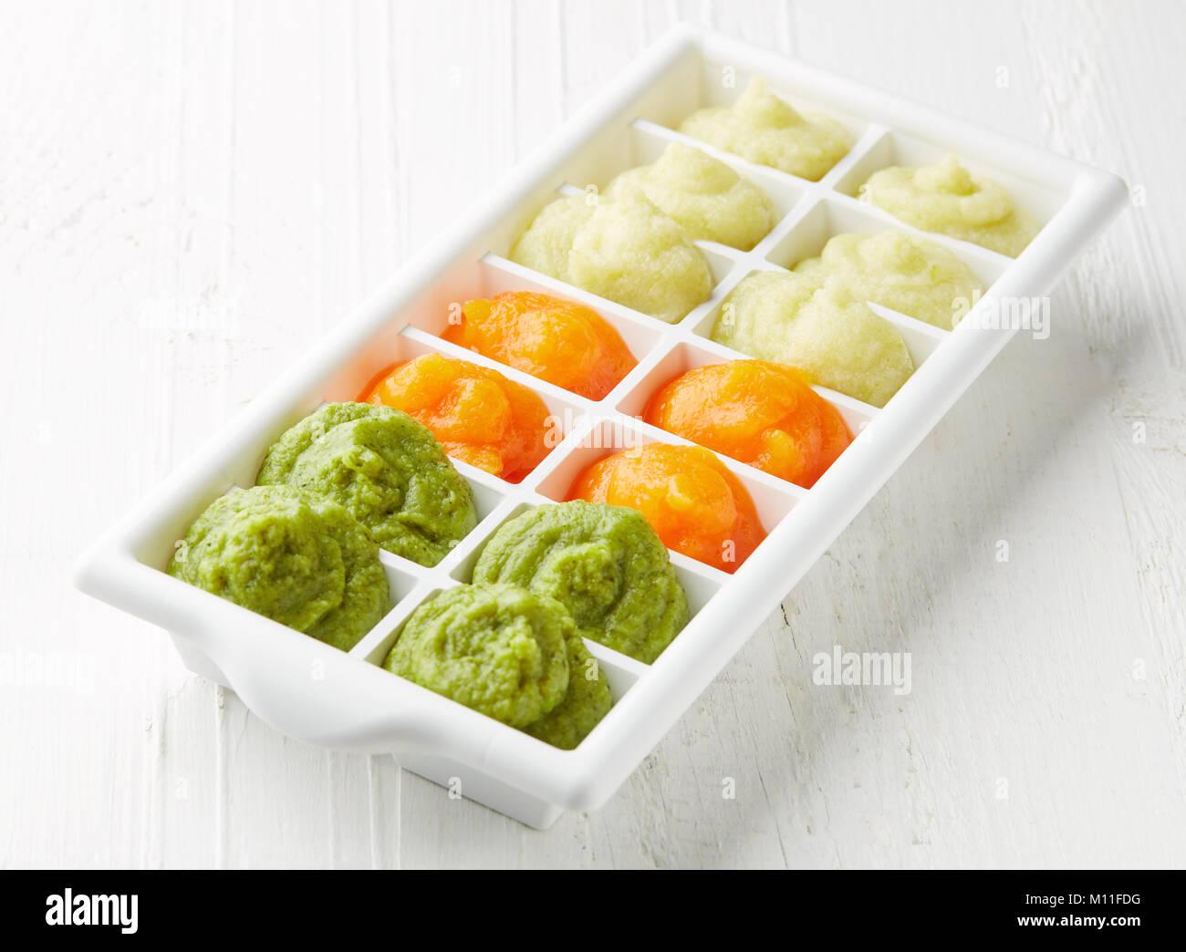 Freezing Avocado Baby Food