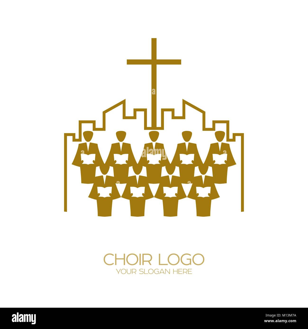 Music logo christian symbols the church of god sings to jesus music logo christian symbols the church of god sings to jesus christ a song of glory buycottarizona Image collections