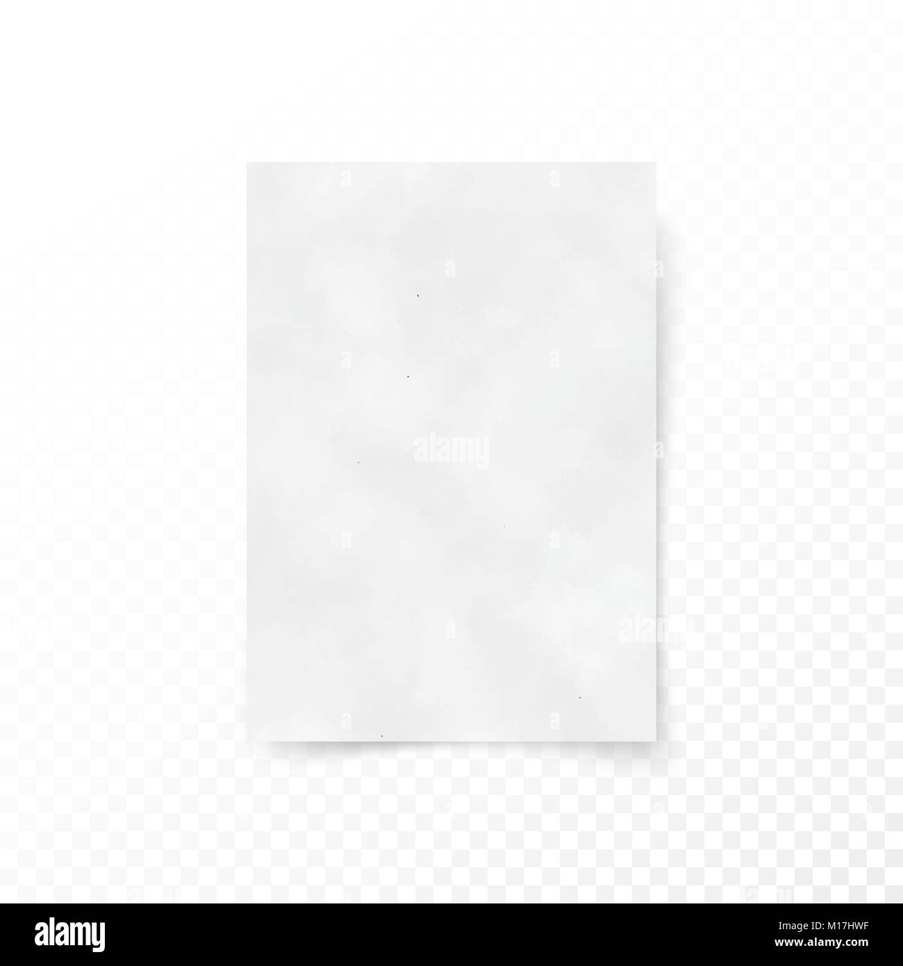 empty paper letter white sheet template paper and carton texture