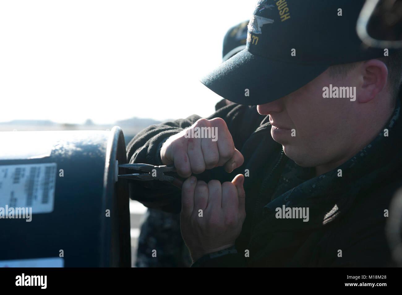 Aviation boatswains mate equipment stock photos