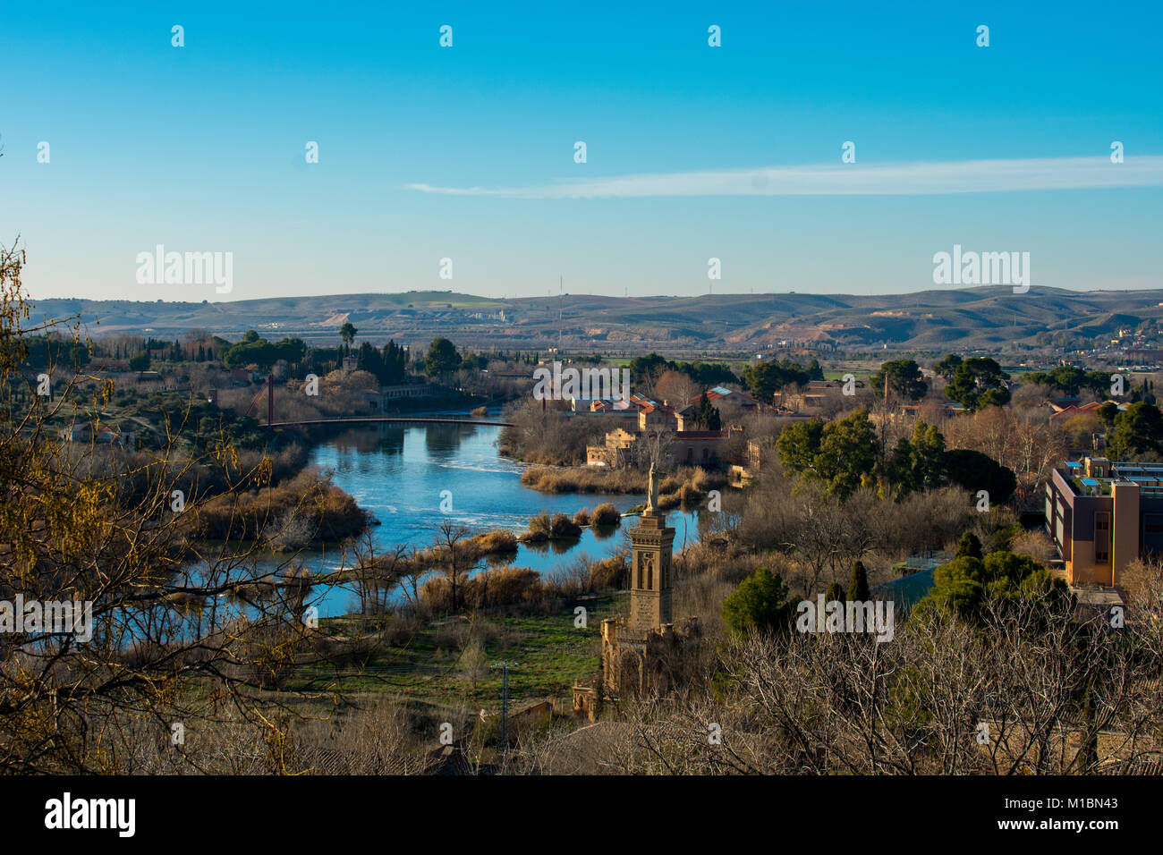 tagus river in toledo the ancestral river is the longest river in