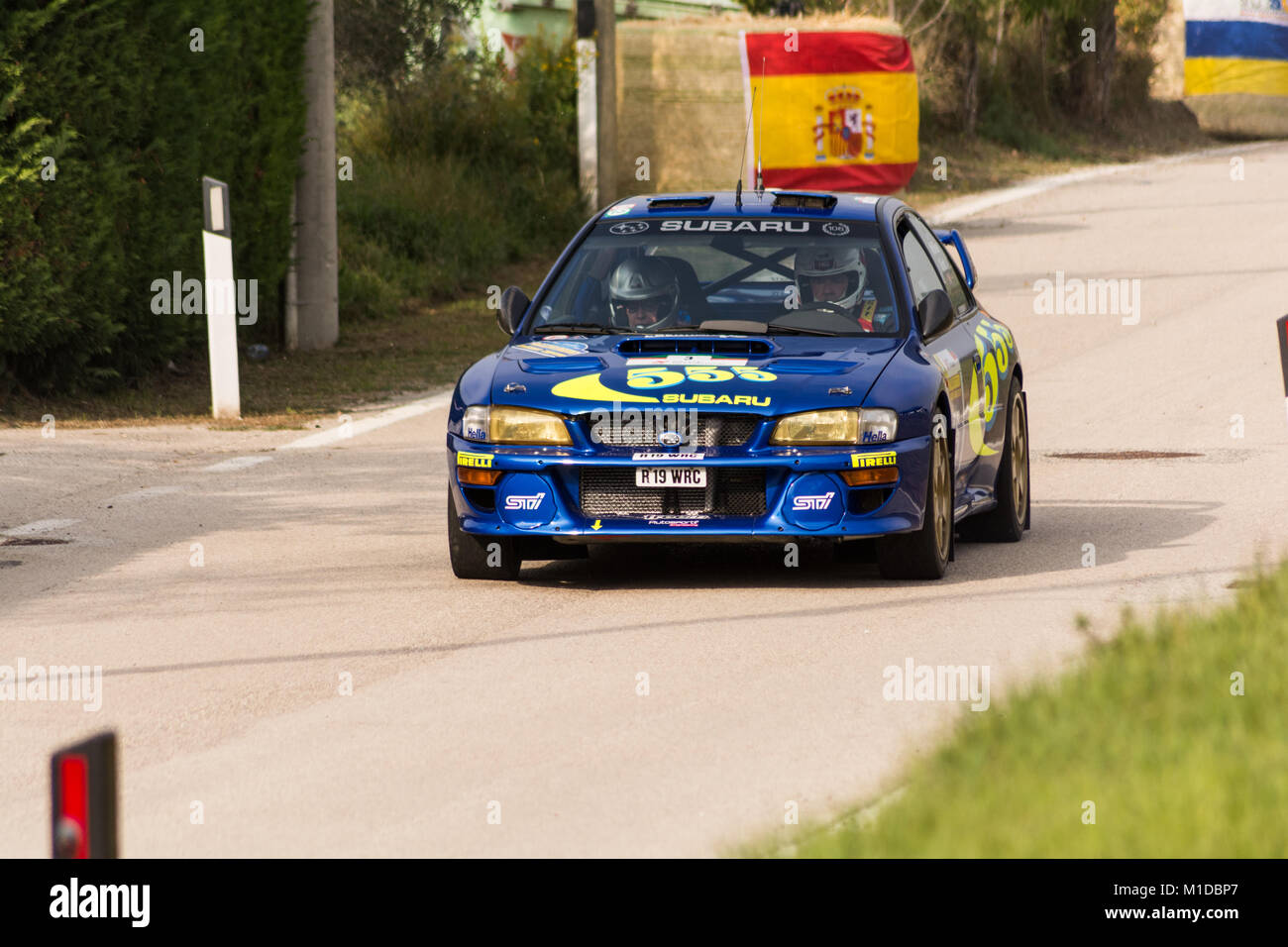 subaru impreza wrc old racing car rally the legend 2017 the famous