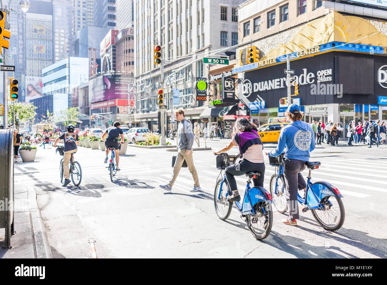 New York City, USA - October 28, 2017: Manhattan NYC buildings of ...