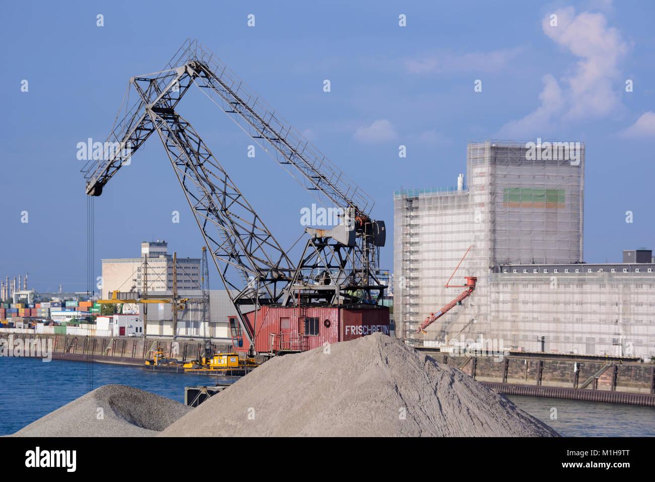 Hafen stadt stock photos hafen stadt stock images alamy for Restaurant mannheim hafen