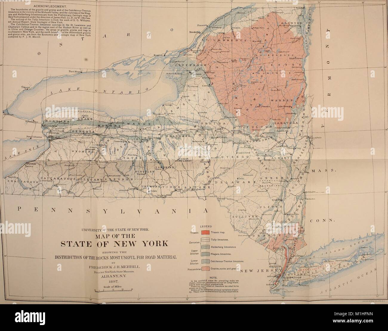 Map legend stock photos map legend stock images alamy color illustration of a map of the state of new york united states of america gumiabroncs Images