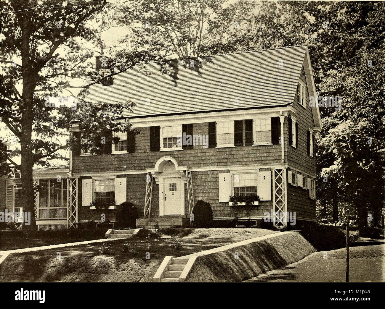 American homes and gardens (1910) (17966095338 Stock Photo ...