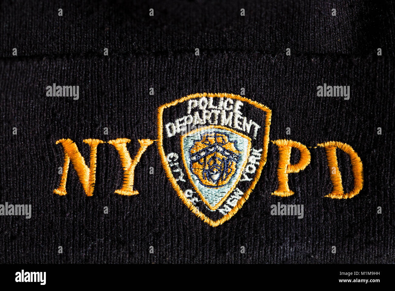 NYPD badge on