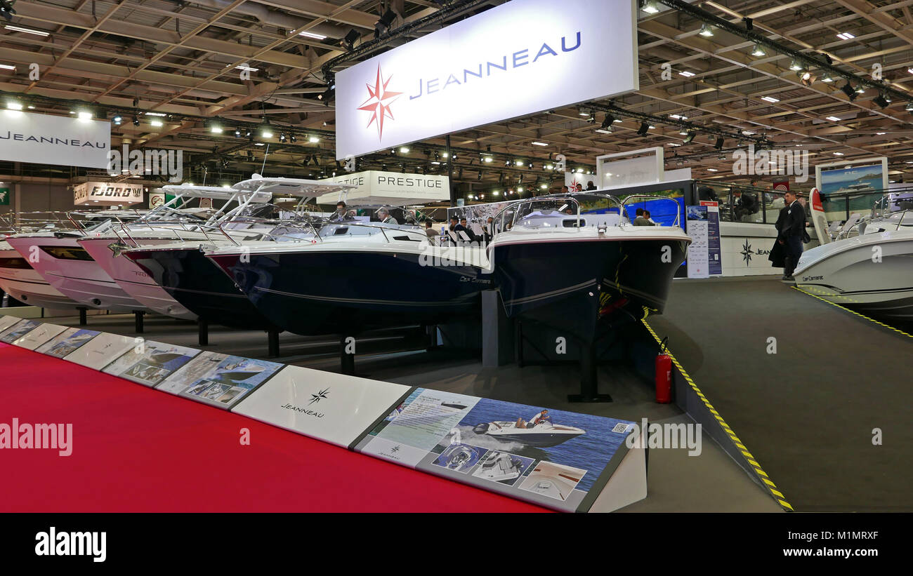 Jeanneau stock photos jeanneau stock images alamy - Salon nautique international de paris ...