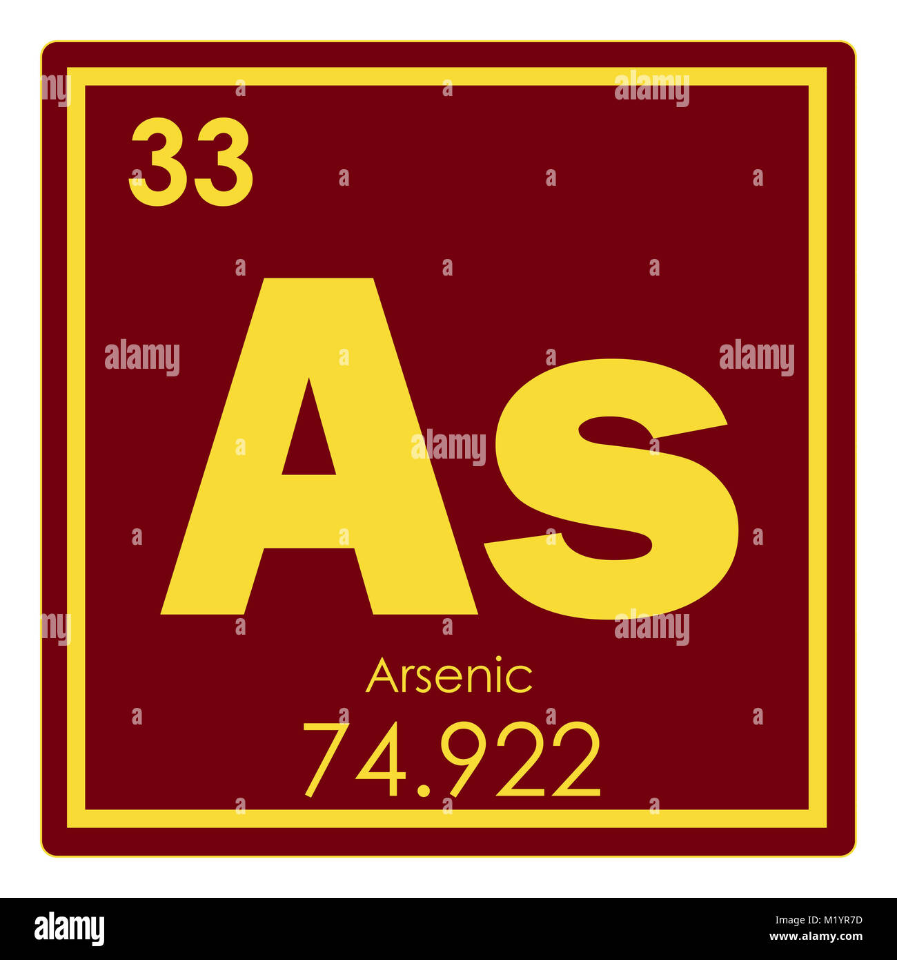 Arsenic chemical element periodic table science symbol stock photo arsenic chemical element periodic table science symbol biocorpaavc Image collections
