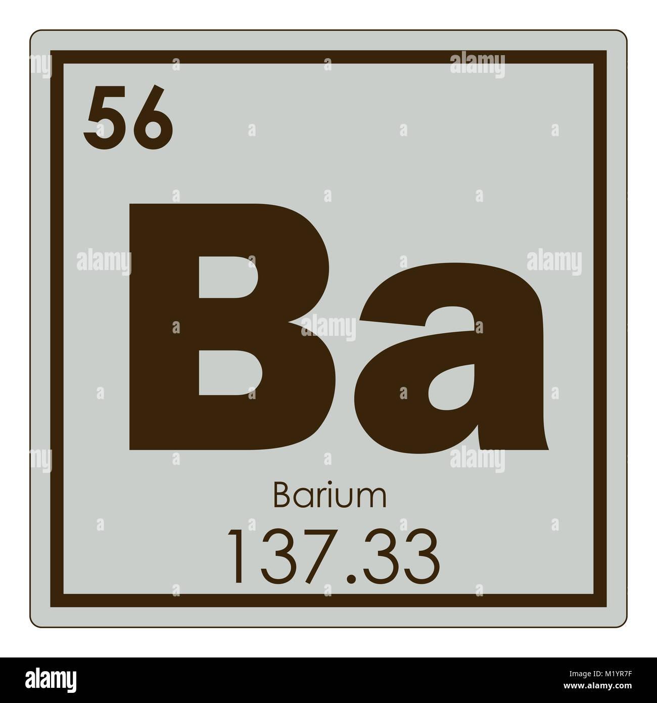 Barium chemical element periodic table science symbol stock photo barium chemical element periodic table science symbol biocorpaavc Images