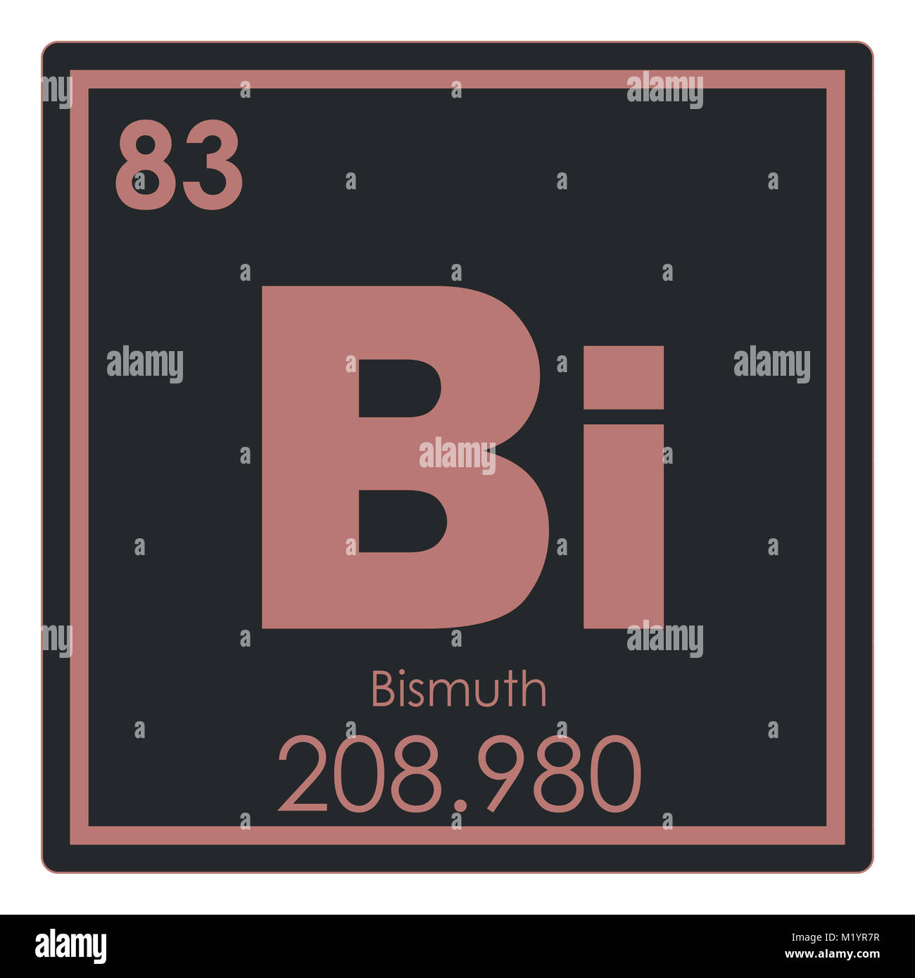 Bismuth chemical element periodic table science symbol stock photo bismuth chemical element periodic table science symbol buycottarizona