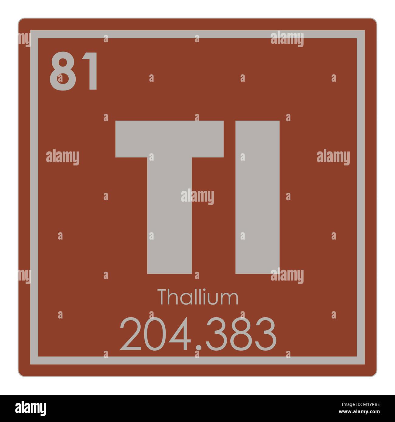 Thallium chemical element periodic table science symbol stock photo thallium chemical element periodic table science symbol urtaz Choice Image