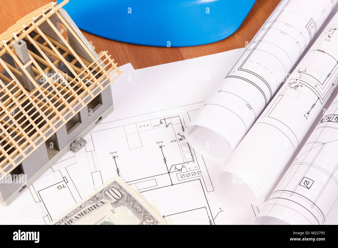 Electrical drawings or diagrams, accessories for engineer jobs ...