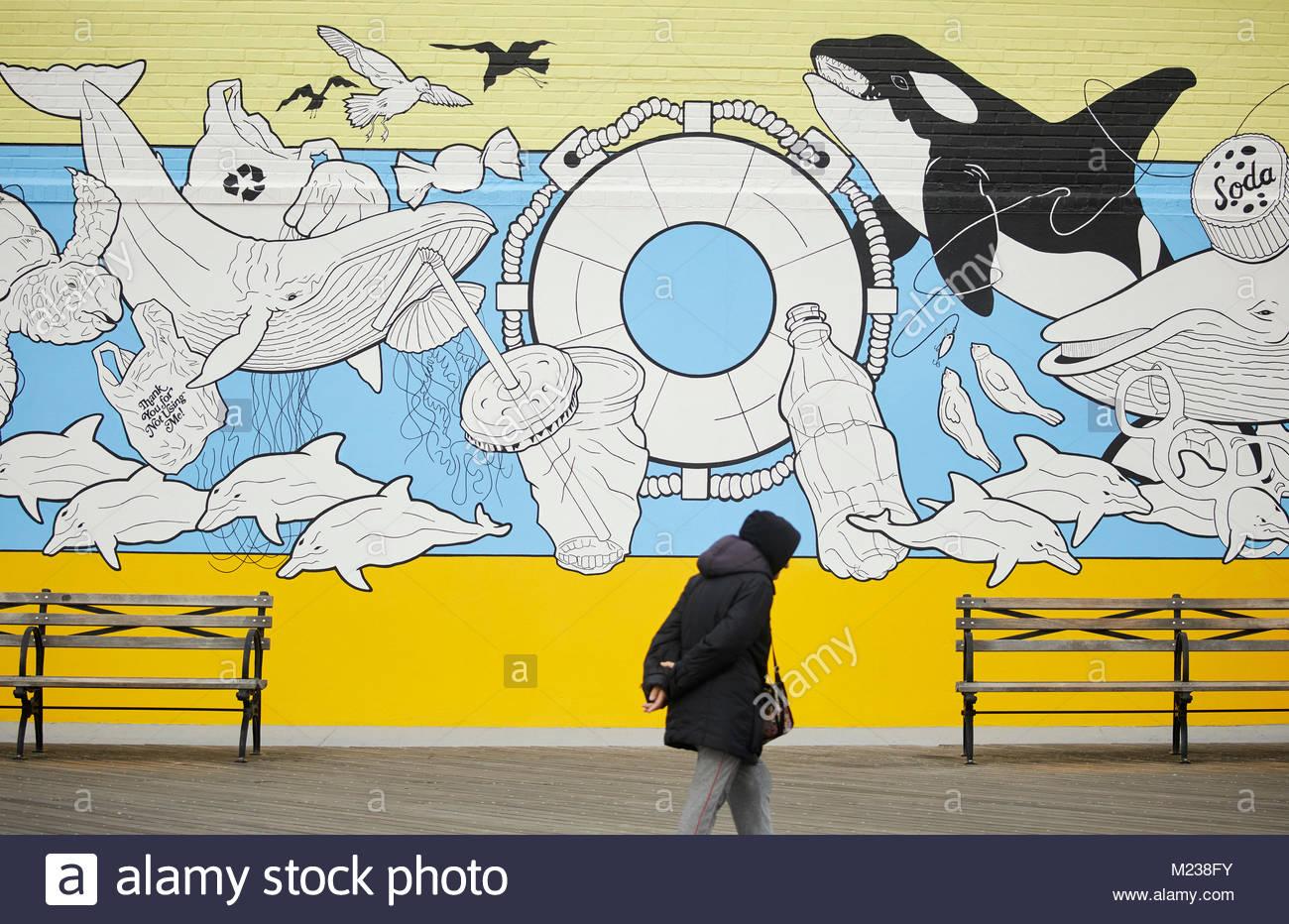 Street Art Graffiti New York Stock Photos & Street Art Graffiti New ...