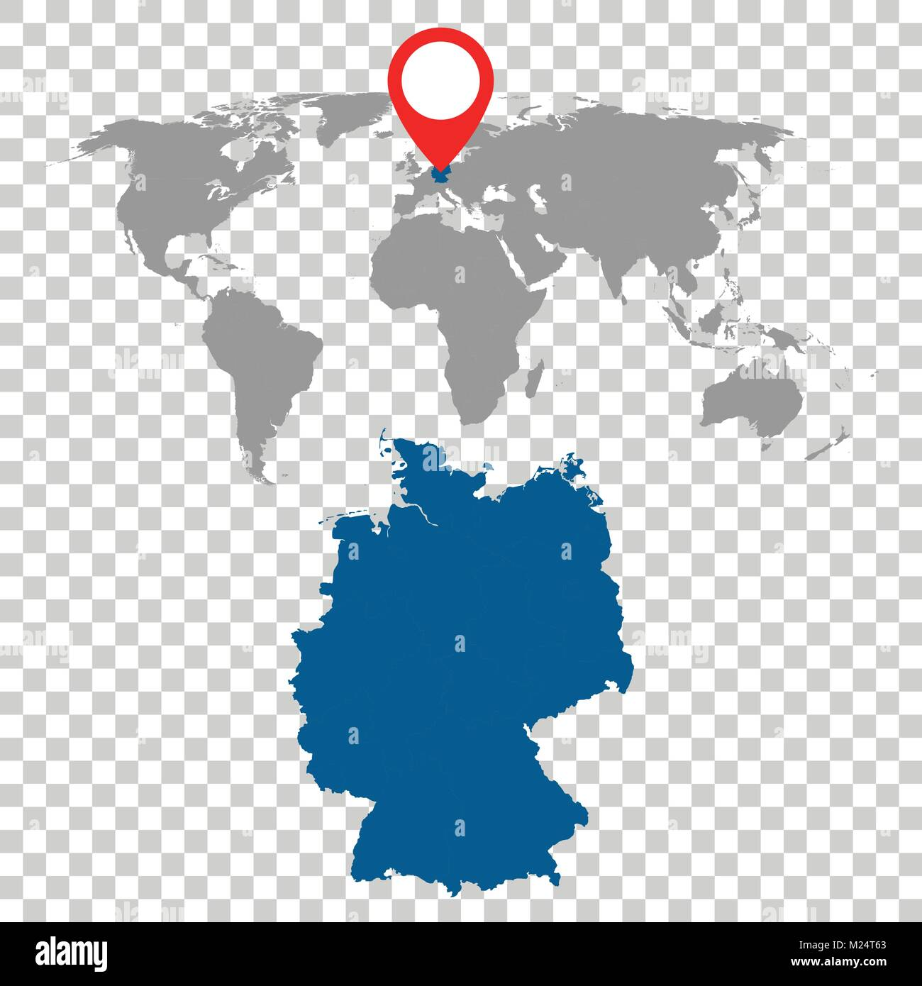 Detailed map of germany and world map navigation set flat vector detailed map of germany and world map navigation set flat vector illustration gumiabroncs Image collections