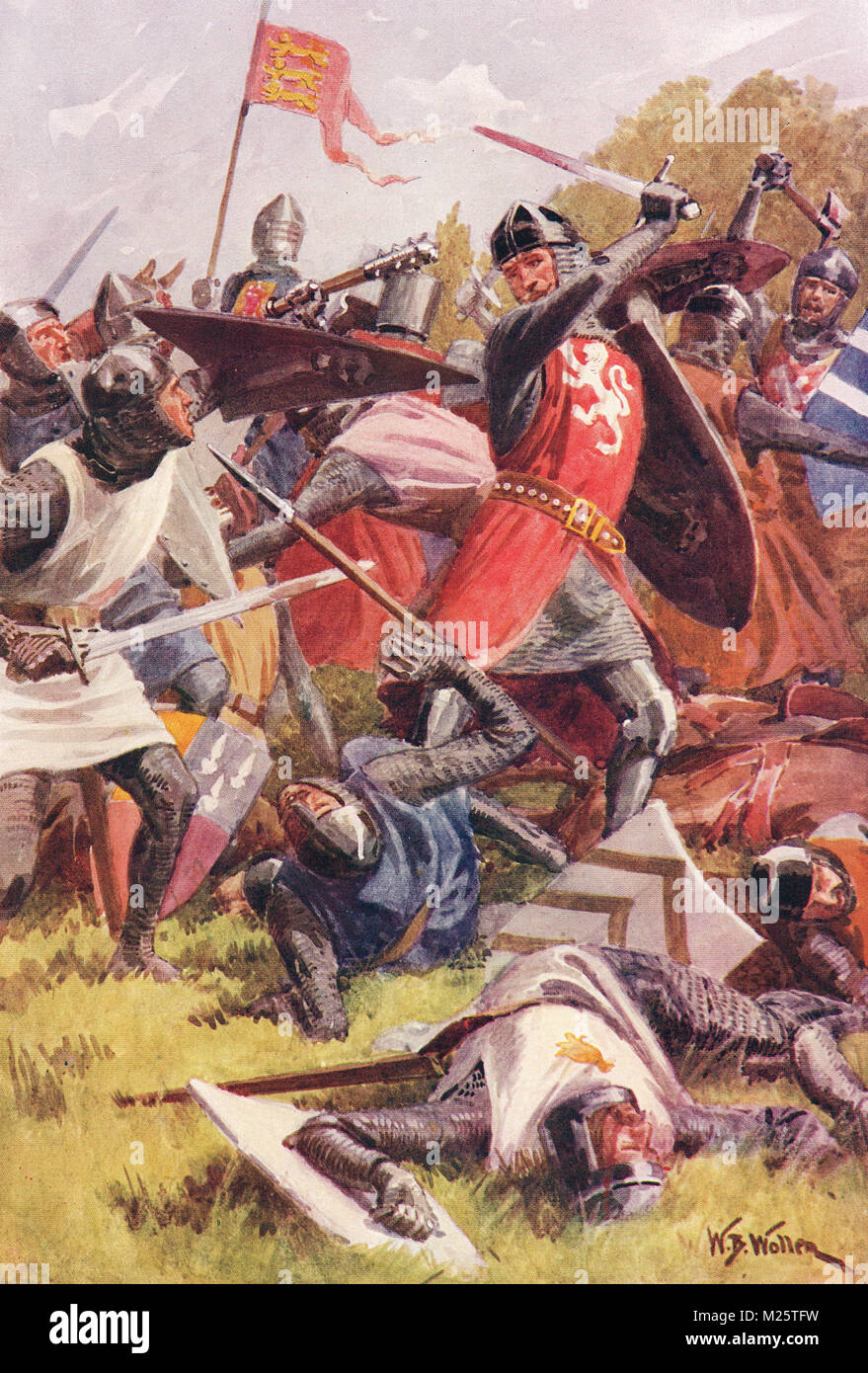 The Battle of Evesham, 4 August 1265